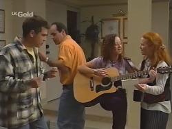 Mark Gottlieb, Philip Martin, Cody Willis, Ren Gottlieb in Neighbours Episode 2301