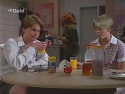 Brett Stark, Cheryl Stark, Danni Stark in Neighbours Episode 2301