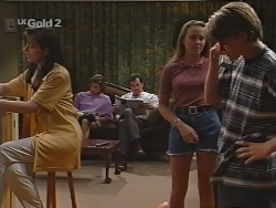 Susan Kennedy, Malcolm Kennedy, Karl Kennedy, Libby Kennedy, Billy Kennedy in Neighbours Episode 2302