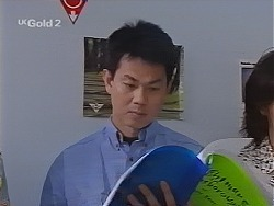 Mike Wong in Neighbours Episode 2302