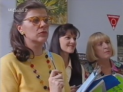 Marjory Beer, Susan Kennedy, Angie Rebecchi in Neighbours Episode 2302