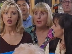 Annalise Hartman, Mike Wong, Angie Rebecchi, Susan Kennedy in Neighbours Episode 2302