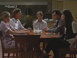 Libby Kennedy, Malcolm Kennedy, Billy Kennedy, Karl Kennedy, Susan Kennedy in Neighbours Episode 2302