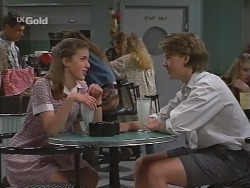 Nicole Cahill, Billy Kennedy in Neighbours Episode 2303