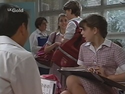 Robert Dong, Nicole Cahill, Billy Kennedy, Hannah Martin in Neighbours Episode 2303