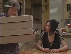 Marlene Kratz, Ling-Mai Chan in Neighbours Episode 2303