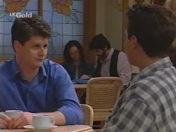Father Michael Graham, Cody Willis, Lech Koca, Mark Gottlieb in Neighbours Episode 2303