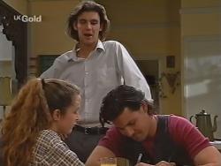 Bianca Zanotti, Malcolm Kennedy, Sam Kratz in Neighbours Episode 2304