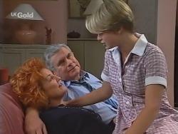 Cheryl Stark, Lou Carpenter, Danni Stark in Neighbours Episode 2304