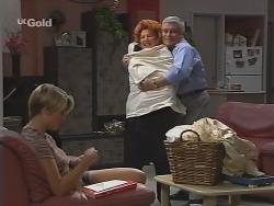 Danni Stark, Cheryl Stark, Lou Carpenter in Neighbours Episode 2304