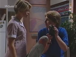 Danni Stark, Dahl, Brett Stark in Neighbours Episode 2305