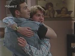 Stonie Rebecchi, Brett Stark in Neighbours Episode 2305