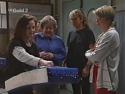 Cody Willis, Marlene Kratz, Sarah Ashmore, Danni Stark in Neighbours Episode 2305