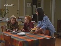 Helen Daniels, Ren Gottlieb, Susan Kennedy in Neighbours Episode 2305