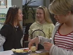 Cody Willis, Libby Kennedy, Danni Stark in Neighbours Episode 2305