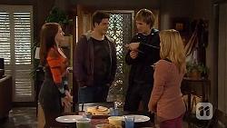 Summer Hoyland, Chris Pappas, Andrew Robinson, Natasha Williams in Neighbours Episode 6471