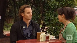 Lucas Fitzgerald, Vanessa Villante in Neighbours Episode 6471