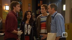 Rhys Lawson, Vanessa Villante, Kyle Canning, Karl Kennedy in Neighbours Episode 6472