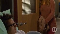 Ed Lee, Natasha Williams in Neighbours Episode 6473