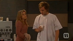 Natasha Williams, Andrew Robinson in Neighbours Episode 6473