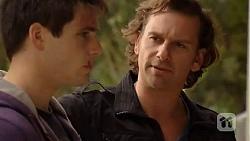 Chris Pappas, Lucas Fitzgerald in Neighbours Episode 6473