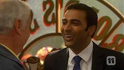 Lou Carpenter, Ajay Kapoor in Neighbours Episode 6475
