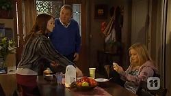 Summer Hoyland, Karl Kennedy, Natasha Williams in Neighbours Episode 6475