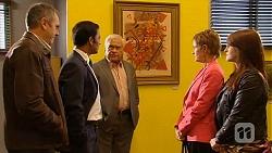 Karl Kennedy, Ajay Kapoor, Lou Carpenter, Susan Kennedy, Summer Hoyland in Neighbours Episode 6475