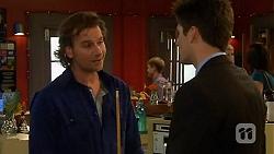 Lucas Fitzgerald, Chris Pappas in Neighbours Episode 6475