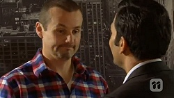 Toadie Rebecchi, Ajay Kapoor in Neighbours Episode 6478