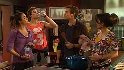 Jade Mitchell, Kyle Canning, Rhys Lawson, Vanessa Villante in Neighbours Episode 6480