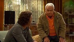 Lucas Fitzgerald, Lou Carpenter in Neighbours Episode 6480