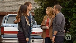 Jade Mitchell, Kyle Canning, Sonya Rebecchi, Toadie Rebecchi in Neighbours Episode 6481