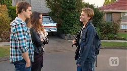 Kyle Canning, Jade Mitchell, Harley Canning in Neighbours Episode 6481