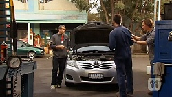 Toadie Rebecchi, Chris Pappas, Lucas Fitzgerald in Neighbours Episode 6481