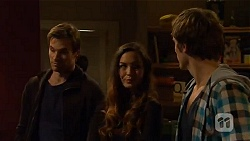 Rhys Lawson, Jade Mitchell, Kyle Canning in Neighbours Episode 6481