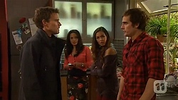 Rhys Lawson, Vanessa Villante, Jade Mitchell, Kyle Canning in Neighbours Episode 6482