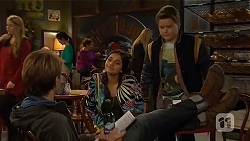 Harley Canning, Rani Kapoor, Callum Jones in Neighbours Episode 6482