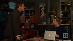 Paul Robinson, Andrew Robinson in Neighbours Episode 6483