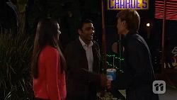 Rani Kapoor, Ajay Kapoor, Harley Canning in Neighbours Episode 6483