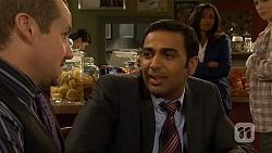 Toadie Rebecchi, Ajay Kapoor, Priya Kapoor, Sonya Rebecchi in Neighbours Episode 6484
