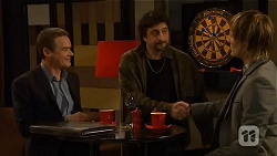 Paul Robinson, Serge Pavlov, Andrew Robinson in Neighbours Episode 6485