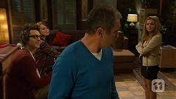 Ed Lee, Summer Hoyland, Karl Kennedy, Natasha Williams in Neighbours Episode 6485