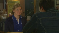 Sandra Kriptic, Aidan Foster in Neighbours Episode 6487