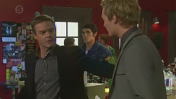 Paul Robinson, Aidan Foster, Andrew Robinson in Neighbours Episode 6487