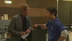 Andrew Robinson, Aidan Foster in Neighbours Episode 6487