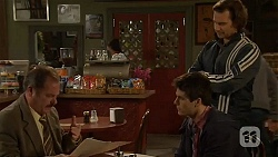 Don Hennessy, Chris Pappas, Lucas Fitzgerald in Neighbours Episode 6488