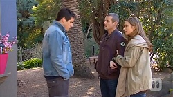 Chris Pappas, Toadie Rebecchi, Sonya Mitchell in Neighbours Episode 6488