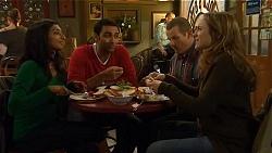 Priya Kapoor, Ajay Kapoor, Toadie Rebecchi, Sonya Rebecchi in Neighbours Episode 6488