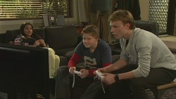 Rani Kapoor, Callum Jones, Harley Canning in Neighbours Episode 6489
